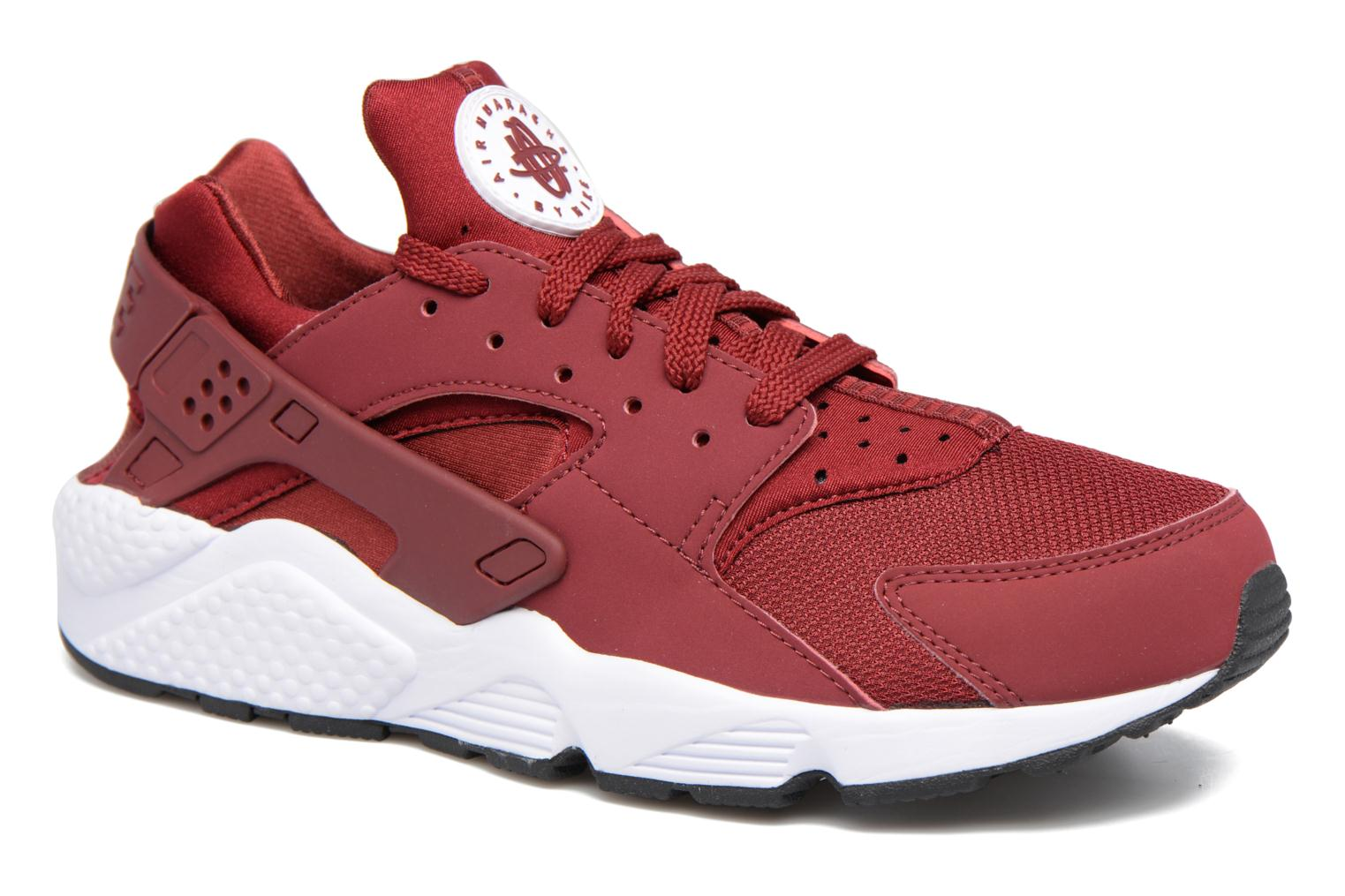Trainers Nike Nike Air Huarache Red detailed view/ Pair view